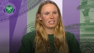 Wimbledon 2018 | Caroline Wozniacki feels great after Eastbourne