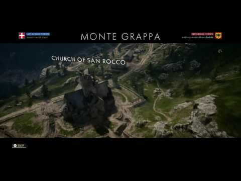 Battlefield 1 Operations | Orders (5/18) - Monte Grappa - Kingdom of Italy