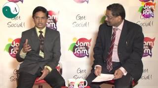 Jam With Sam E18 with Amol Khair from Aakar Abhinav Consultants Pvt Ltd