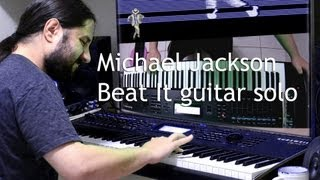 Beat It guitar solo | Michael Jackson | Kurzweil PC3K | KORE 64