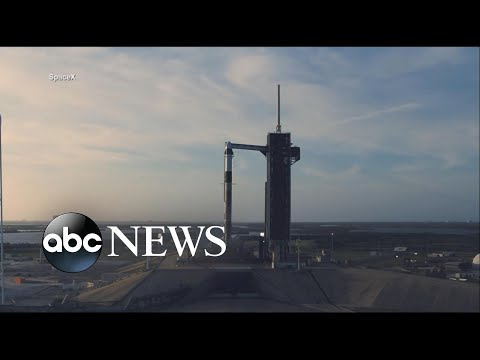 NASA, SpaceX set for launch of historic manned mission to space