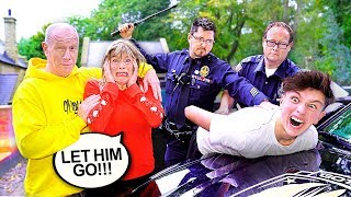 POLICE PRANK ON PARENTS! *mom cries*