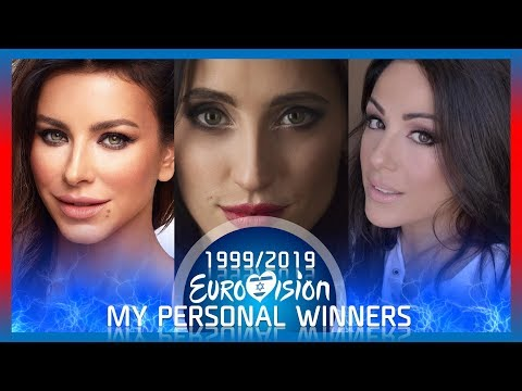 Eurovision 1999-2019 - My Personal Winners Each Year""