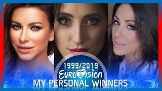 "Eurovision 1999-2019 - My Personal Winners Each Year"" thumbnail"
