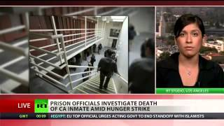California inmates claim one of them died protesting inhuman conditions