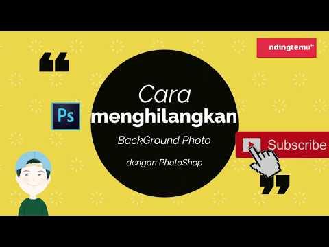 Cara Menghilangkan Background Dengan Photoshop Thumbnail Youtube Mudah Banget Photoshop Youtube