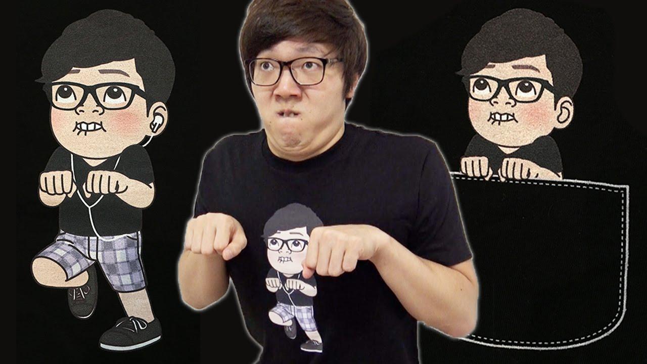 新ヒカキンTシャツ登場!今回は2種類!