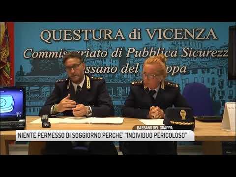 TG BASSANO (25/07/2018) - NIENTE PERMESSO DI SOGGIORNO PERCHE ...