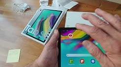 Black Friday Angebot : Samsung Tab S5e für 299 statt 429 Euro. Erster Test und Setup NICHT S6