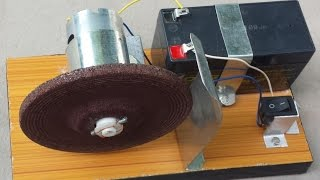 How to make a KNIFE SHARPENER / Powerful Grinding Machine (Portable)