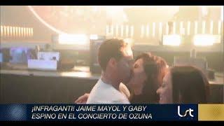 Captan romanticones a Gaby Espino y Jaime Mayol