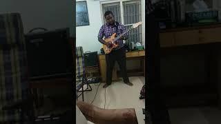 Tamil song nanthanam nanthanam guitar carnatic