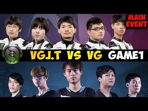 🔴PSG.LGD vs Virtus Pro (ENG) TI8 Main Stage Live Dota 2