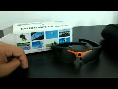 analise review sports hd sunglasses oculos que filma