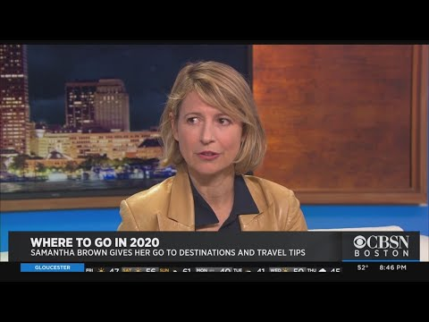 Samantha Brown Shares 2020 Travel Tips