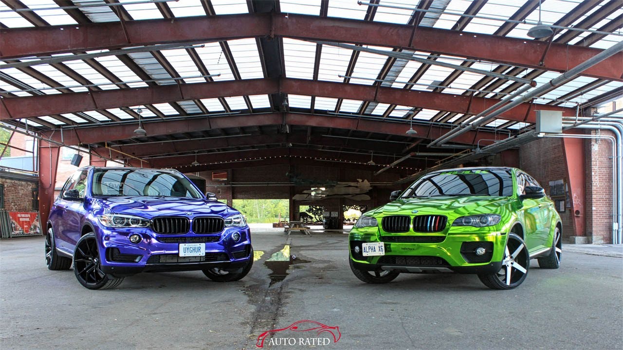Toronto Wraptors Bmw X5 And Bmw X6 Youtube