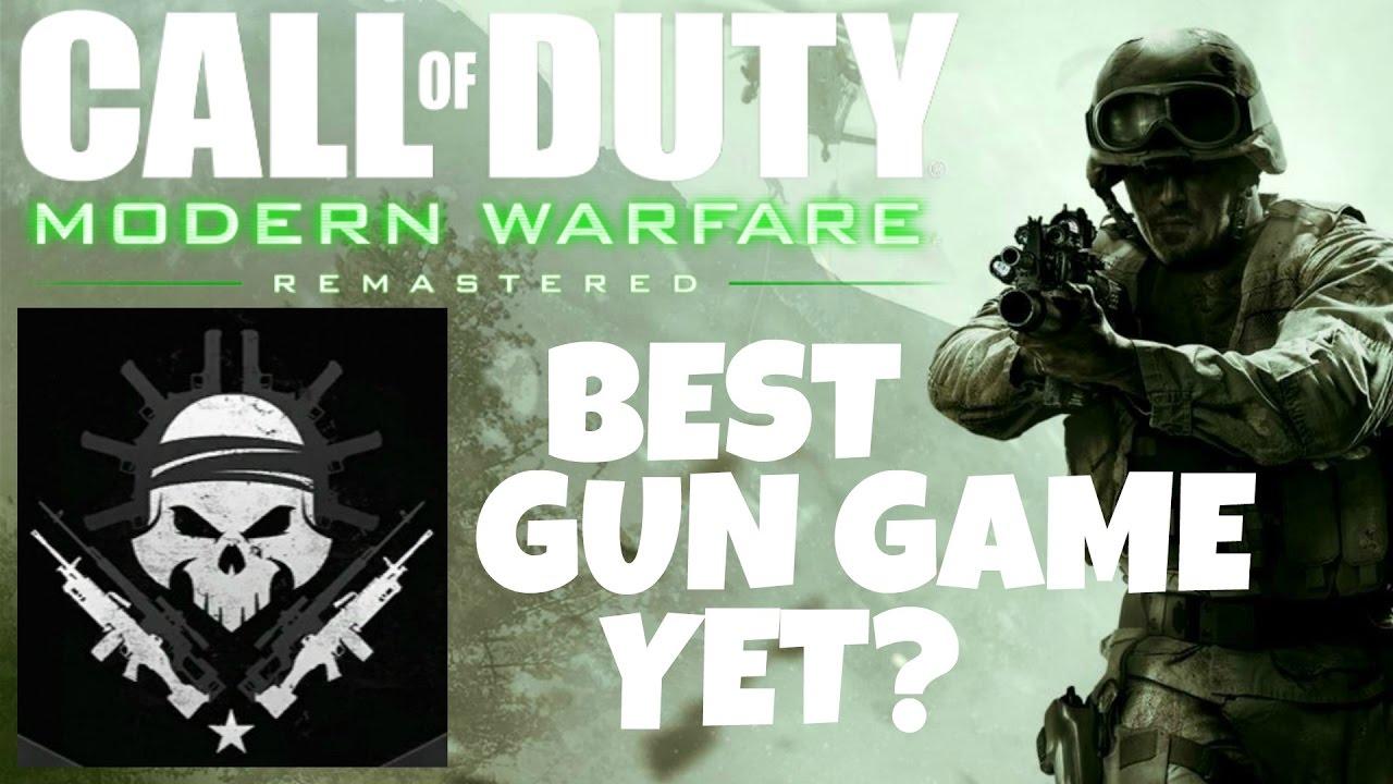 Modern Warfare Remastered Gun Game The Best Yet Cod