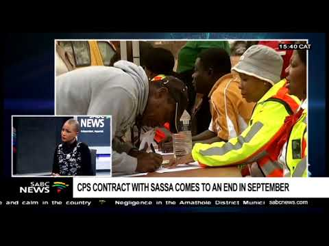 CPS contract coming to an end with SASSA: Minister Shabangu