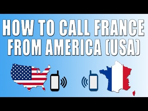 How To Call France From America (USA)