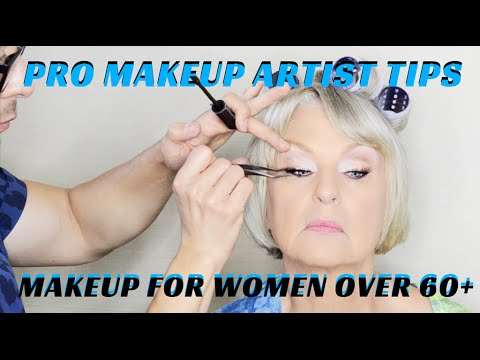 How to Do Makeup on Women Over 60 Makeup Tutorial