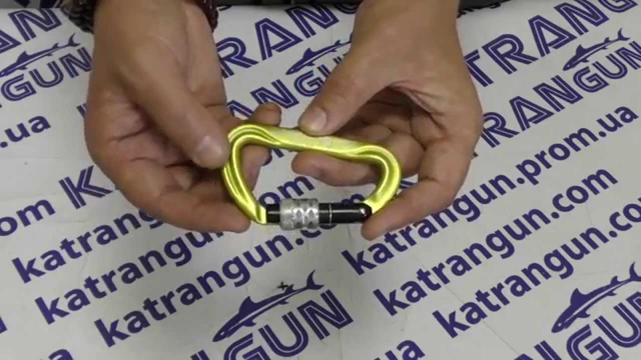 Карабин с фиксатором Climbing Technology Concept TGL - YouTube