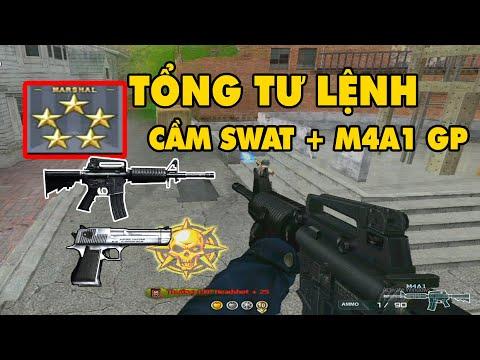► Bình Luận CF - Tổng Tư Lệnh Nghèo Với SWAT Và M4a1 GP  ✔ Tú Lê