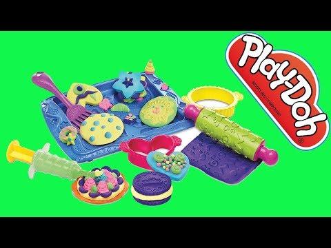 PLAY DOH CaKe Ice Cream Cupcake Maker - Disney Frozen Princess Elsa Playdough Plastilina Videos