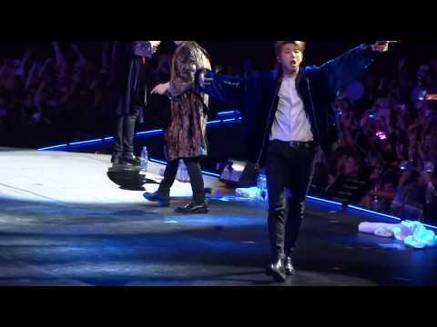 BTS Cypher 4 (Rap Monster, Suga, J-Hope) [BTS Wings Tour Sydney 2017]