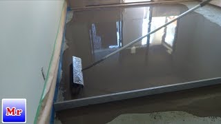 How To Concrete Floor Leveling in an Apartment Use Self Leveling Underlament Mryoucandoityourself