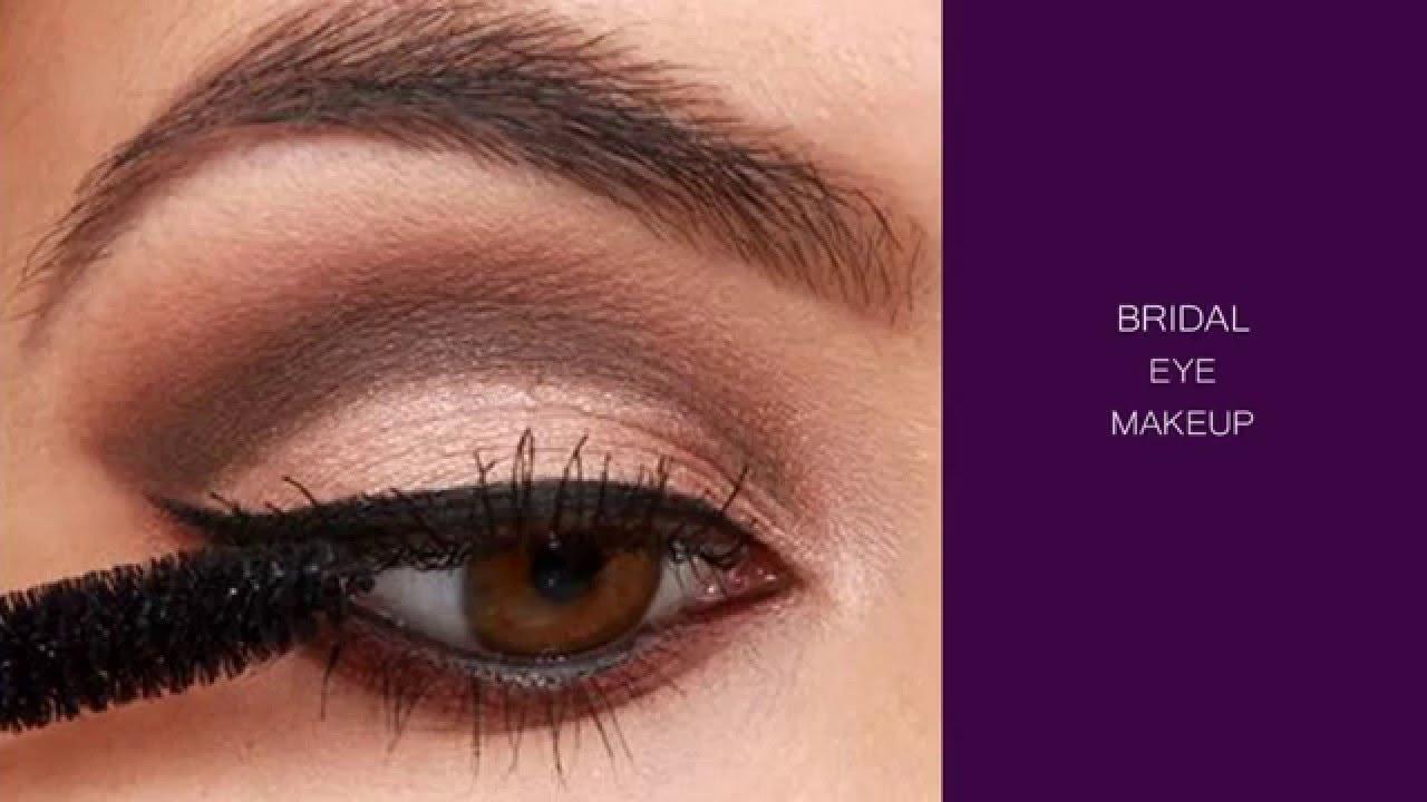 Bridal Eye Makeup Tutorial Easy Eye Makeup Youtube