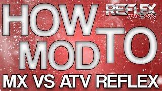 How to Install Custom Bikes/Gear/Tracks on MX vs ATV REFLEX |HD| (EASY)
