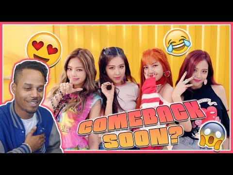 UNHELPFUL GUIDE TO BLACKPINK REACTION! Impatiently Waits For Comeback. . 🙃
