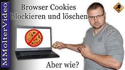 Cookies verwalten / zulassen oder blockieren - Info Video für meine Website