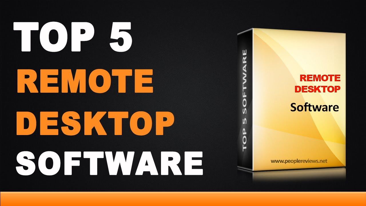best remote desktop software top 5 list youtube