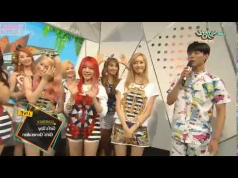 150710 [HD] SNSD+Girl's Day-Interview @ MB