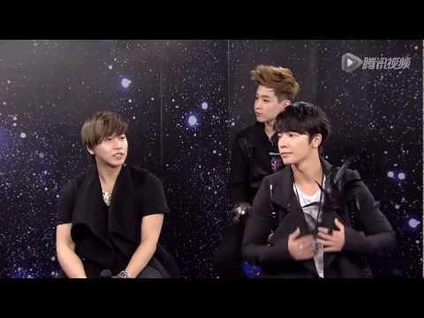 [SUB ESP] 130109 Super Junior-M Tencent QQ Parte 2