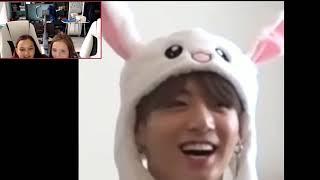 Фото Реакция с подругой на BTS Ari Rang (Не) Зайка Чон Чонгук