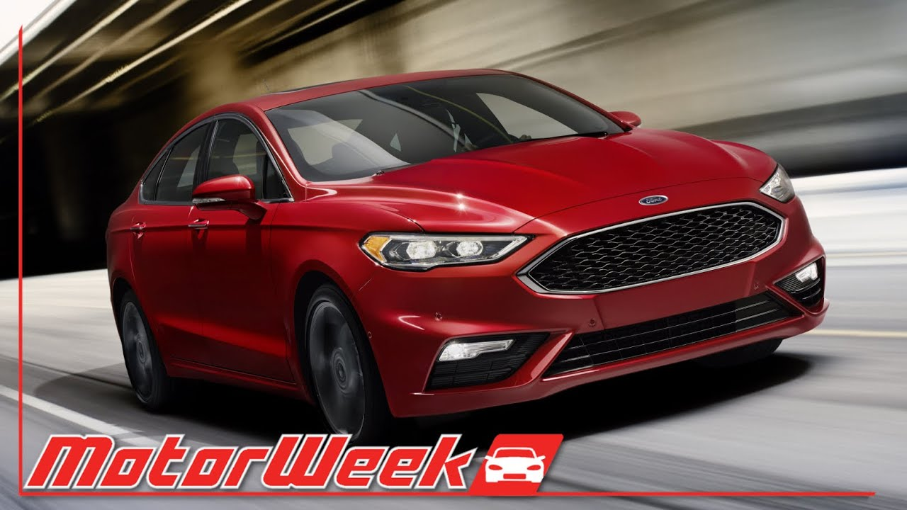 MotorWeek | First Look: 2017 Ford Fusion