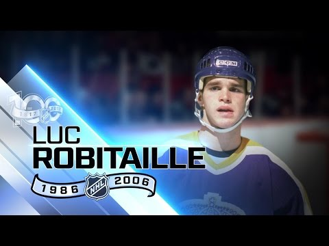 Luc Robitaille highest-scoring LW in history