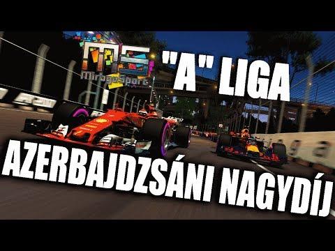 🏆 MS A LIGA  Azeri nagydíj  F1 2017