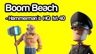Boom Beach - Hammerman's HQ lvl 40 - Warrior