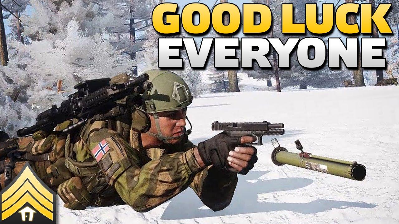 Good Luck Everyone >> Good Luck Everyone Shacktac Arma 3 Youtube