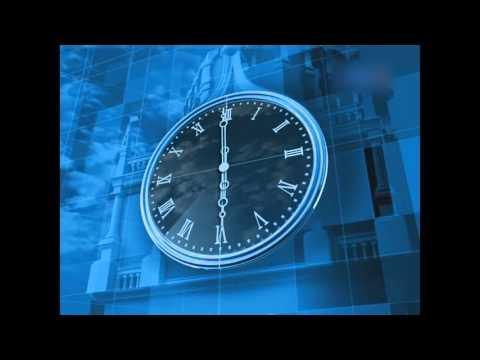 1 апреля — 30 сентября показывались осовремененные часы наподобие часов «центрального телевидения ссср» — ход секундной стрелки был резким и поменялся шрифт у цифр, а также фон был заменён на более светлый.