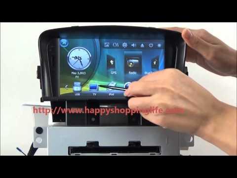 Chevrolet Cruze Car DVD Player GPS Navigation Radio Bluetooth TV