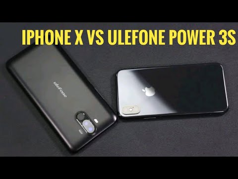 🔥🔥 iPhone X vs Ulefone Power 3S Gaming Performance Comparison