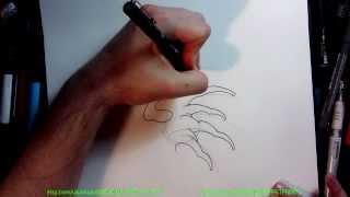 How  to Draw Tattoo Style Waves Quick Tip Tutorial