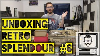 Retro Donations Unboxing #6 | Nostalgia Nerd