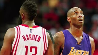 Kobe Bryant one on one plays vs James harden All HIGHLIGHTS