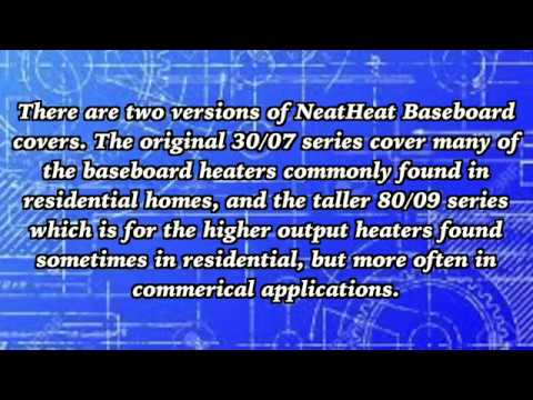 How To Measure For Neatheat Tall Baseboard Heater Covers 80 09 Series Youtube