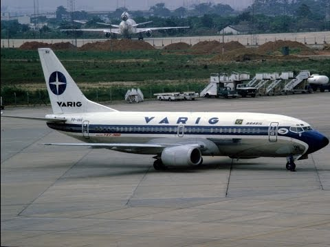 ✈ ✈(HD) Brasilia (SBBR) / Confins(SBCF) Boeing 737-300 Varig Brasil ✈ ✈(HD)